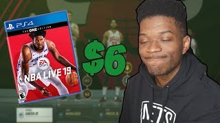 I bought NBA Live 19 to try and rebuild a team...
