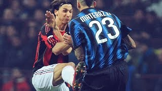 The day Zlatan Ibrahimović sent Marco Materazzi to the hospital   Oh My Goal