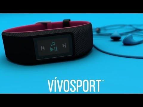 Garmin vívosport™ - Smart-Fitness-Tracker mit Herzfrequenzmessung am Handgelenk und GPS