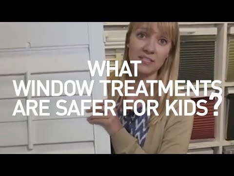 What Window Treatments Are Safer For Kids?