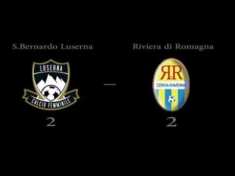 SAN BERNARDO LUSERNA - RIVIERA DI ROMAGNA 2-2 highlights