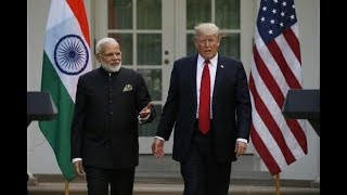 PM Modi welcomes US Prez Trump & First Lady, Trump-Mod..