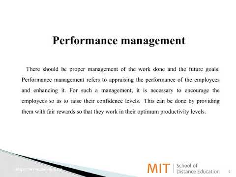 Processes in Human Resource Management (HRM)