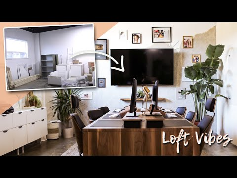 mid century Parisian inspired office makeover! | Loft Vibes | Season 4 | EP4