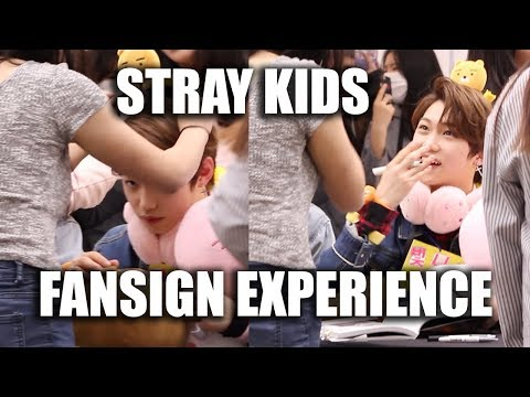 STRAY KIDS FANSIGN EXPERIENCE