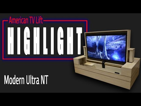 American TV Lift Cabinet - Ultra NT TV Lift Cabinet