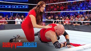 Stephanie McMahon tends to Triple H after a beatdown by Braun Strowman: Exclusive, Nov. 19, 2017