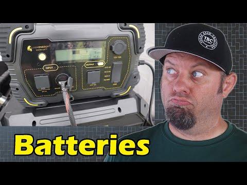 Lion Energy Battery, Solar Generator   Overland Expo East 2021