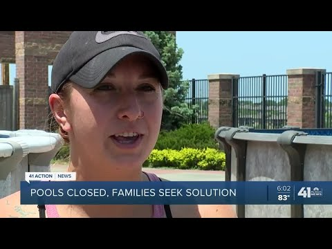 Pools Closed, Families Seek Solutions