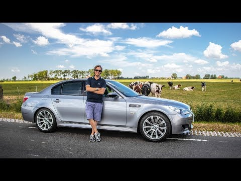6-Speed MANUAL BMW M5 E60: Perfection Does Exist! [Sub ENG]