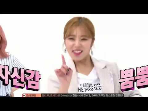 주간아이돌 마마무&여자친구 마마무 cut