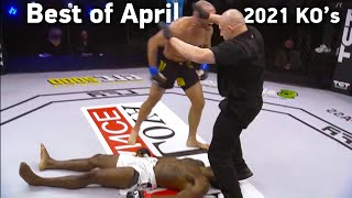 MMA's Best Knockouts of the April 2021 | Part 2, HD