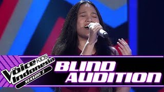 Angeline - Be The One | Blind Auditions | The Voice Kids Indonesia Season 3 GTV 2018