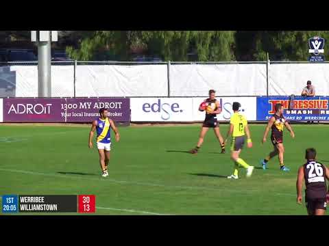 Round 3 highlights: Werribee vs Williamstown