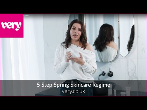 very.co.uk & Very Discount Code video: Your 5-Step Spring Skincare Regime | Very
