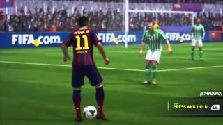 FIFA 14  New Skills | المراوغات الجديدة في الفيفا 14