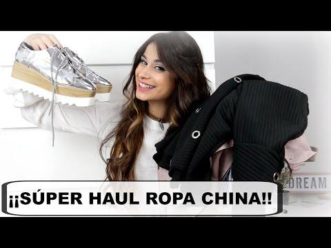 SUPER HAUL DE ROPA CHINA