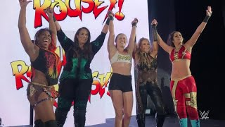 Ronda Rousey gets rowdy alongside Nia Jax at WWE Live Event: WWE Exclusive, July 9, 2018