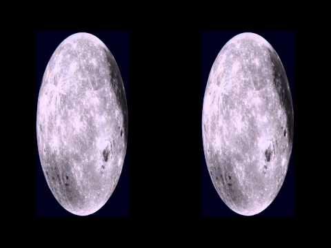 Rotating Moon 3D HSBS