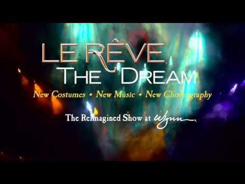Now reimagined with all-new music, costumes and choreography, Le Rêve – The Dream at Wynn Las Vegas welcomes you into a thrilling acrobatic fantasy world, set inside an aqua theater-in-the-round. Follow the show's heroine, The Dreamer, through a suspenseful dream sequence on her journey to choose between the dueling desires of true love and dark passion.