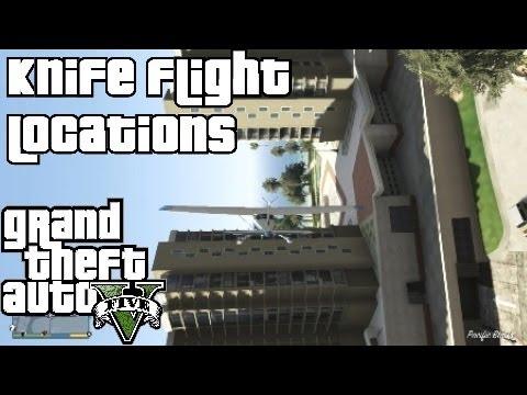 Grand Theft Auto 5 Knife Flight Locations Close Shave