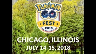 Pokémon GO Fest 2018 (Lincoln Park, Chicago, IL)
