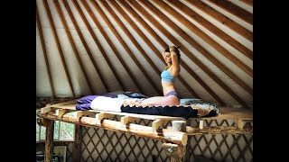 Living Off Grid in a Yurt | Building a Loft - Ep. 45