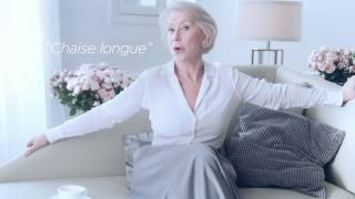French Lessons with Helen Mirren | L'Oréal Paris Age Perfect | Behind the Scenes