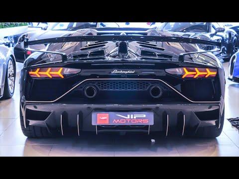 Lamborghini Aventador SVJ 63 Roadster – Sınırlı Üretim Süper Spor Araba Teknik ve Özellikleri