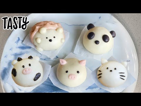 How To Make The Cutest Baos ? Tasty