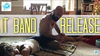Thai Massage Foot and IT Band Release