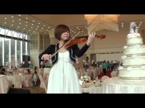 魔法大衛婚禮音樂,婚禮歌曲,提琴手-小琳,婚禮歌曲,愛很簡單.