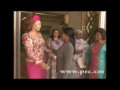 Mme Chantal Biya reçoit Mme Constancia Obiang