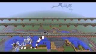Minecraft rube goldberg machine