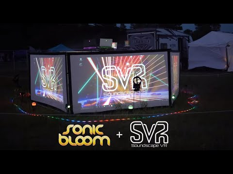 Soundscape VR Debuts New Stage at Colorado's Sonic Bloom