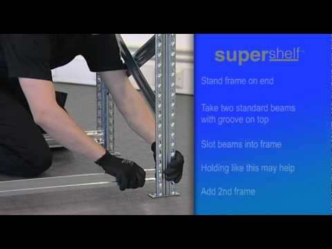 How to Build Supershelf™ Central Garment Hanging