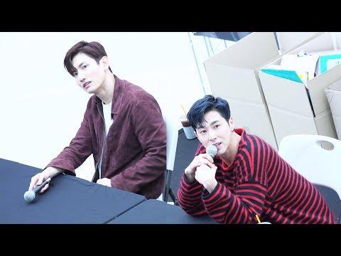 20180415 동방신기 (TVXQ!) 코엑스 팬사인회 (Fan-Signing Event in Coex) 최강창민 (MAX), 유노윤호 (U-KNOW) @코엑스몰 라이브 플라자