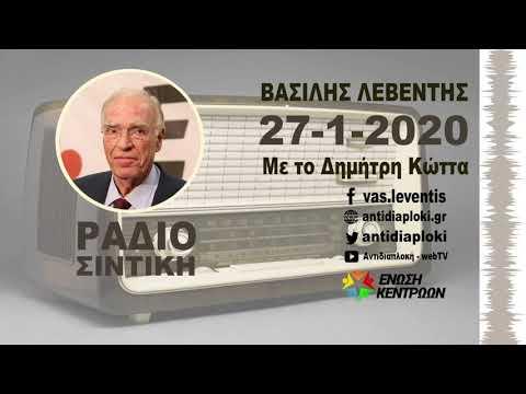 Απολογισμός περιοδείας στη Β. Ελλάδα (Β. Λεβέντης, Ράδιο Σιντική, 27-1-2020 με το Δημήτρη Κώττα)