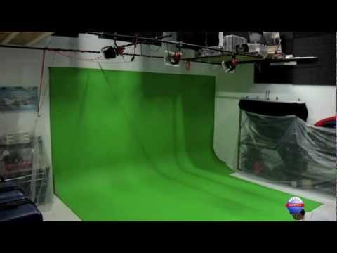 Inertia Films Rosco Chromakey Painting Time-lapse