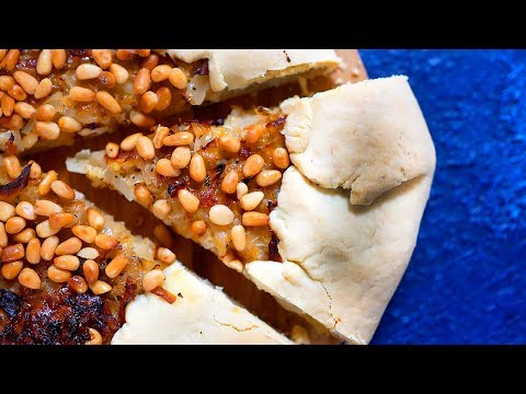 Галета с капустой и кедровыми орешками | Рецепт
