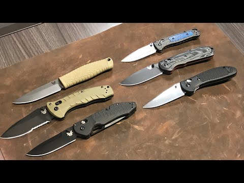 NEW Benchmade Knives: Outlast, Turret, Updated Freek and Bugout, S30V Griptilian - Shot Show 2019