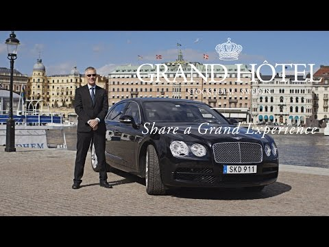 The New Bentley Flying Spur - The Grand Hôtel chauffeur service
