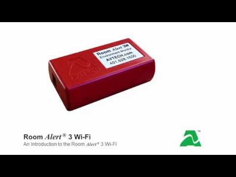 AVTECH Room Alert 3 Wi-Fi: Introduction