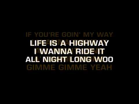 Baixar Rascal Flatts-Life Is A Highway (Karaoke)