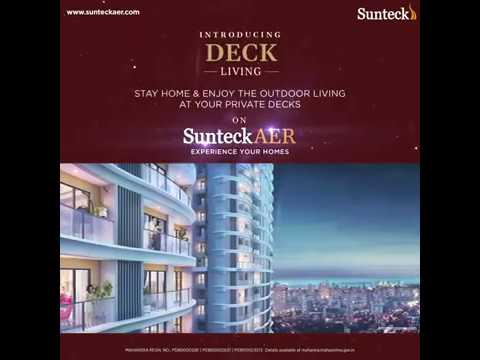 Book the home of your choice with SunteckAER and avail exclusive lockdown offers & benefits.