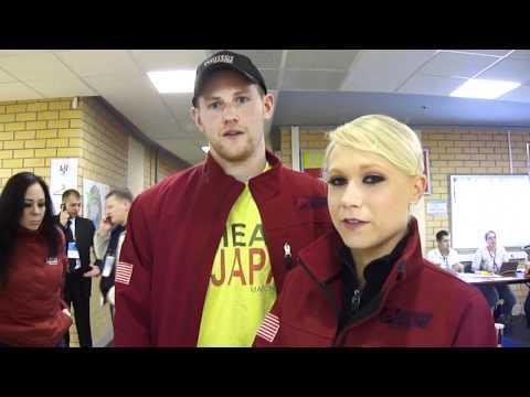 2011 Worlds: Yankowskas, Coughlin interview