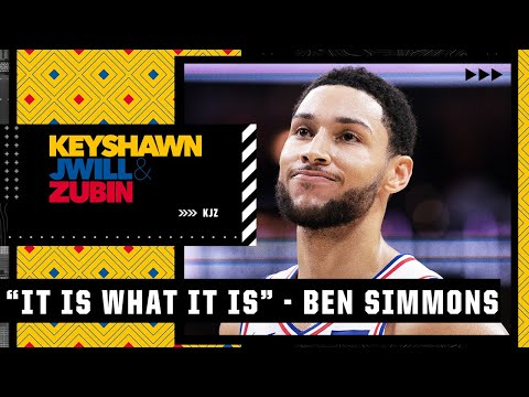 'C'mon man!' - Keyshawn Johnson reacts to Ben Simmons' postgame comments | KJZ
