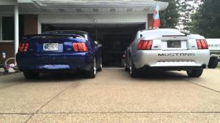 X pipe vs H pipe REVS- Mustang GT