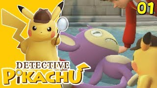 🔴 Let's Solve Some Mysteries! - Detective Pikachu LIVE #1 (Chapter 1 - Tahnti Park)