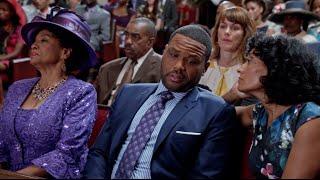 Dre & Bow Struggle with a Long Church Service - black-ish